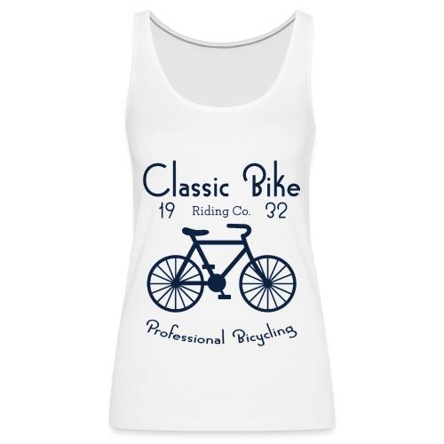 Classic Bike - Débardeur Premium Femme