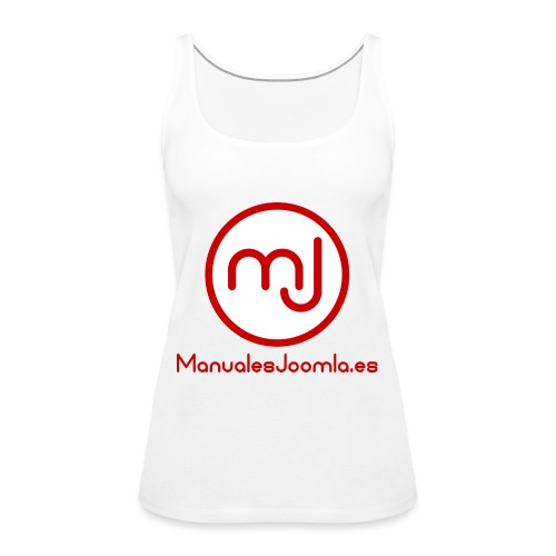ManualesJoomla.es - Camiseta de tirantes premium mujer