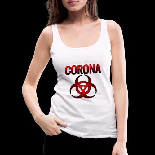 Corona Virus CORONA Pandemie - Frauen Premium Tank Top