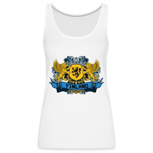 lionfinland - Naisten premium hihaton toppi