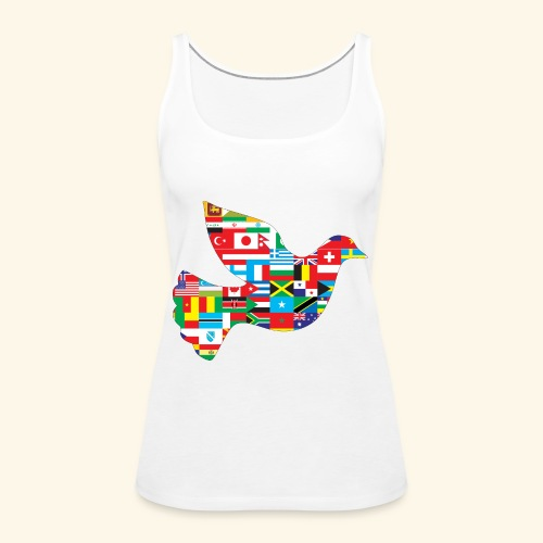 countrys t-shirt - Camiseta de tirantes premium mujer