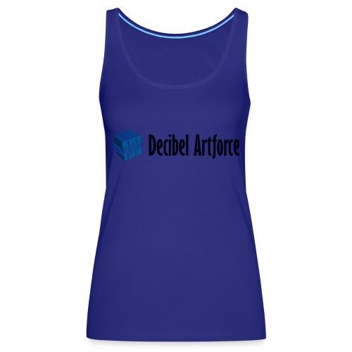 Decibel Artforce Logo (transparent) - Frauen Premium Tank Top