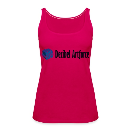 Decibel Artforce Logo (transparent) - Frauen Premium Tank Top