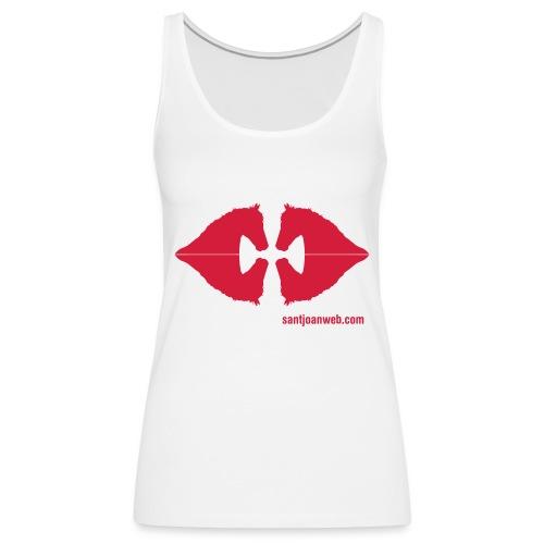 creuencavalls - Camiseta de tirantes premium mujer