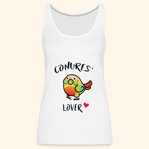 Conures' Lover: Ananas - Débardeur Premium Femme