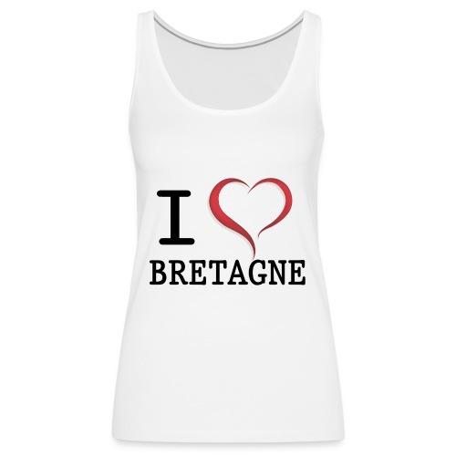 i love bretagne design - Débardeur Premium Femme