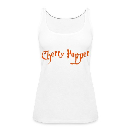 cherry vector - Women's Premium Tank Top