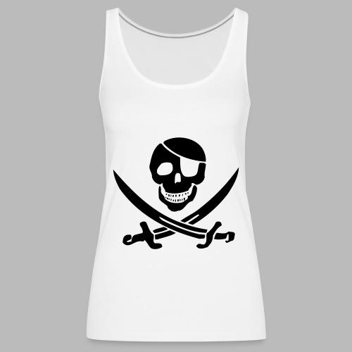 pirat pur klein - Frauen Premium Tank Top
