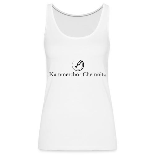 logokammerchorshirt - Frauen Premium Tank Top