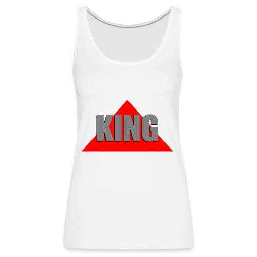 King, by SBDesigns - Débardeur Premium Femme