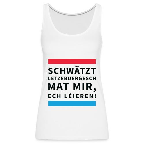 Schwätzt Lëtzebuergesch - Women's Premium Tank Top