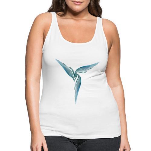 Bird Bird of Paradise Cockatoo Icarus Chaos 4395oce - Women's Premium Tank Top
