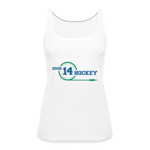 D14 HOCKEY LOGO - Women's Premium Tank Top