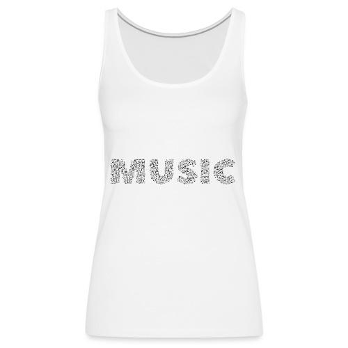Music - Frauen Premium Tank Top