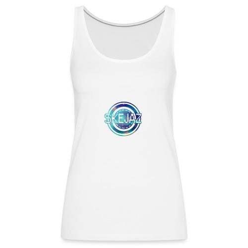 Official SKEJAZ Band Logo - Women's Premium Tank Top