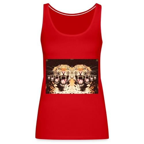 tijgermond jpg - Vrouwen Premium tank top