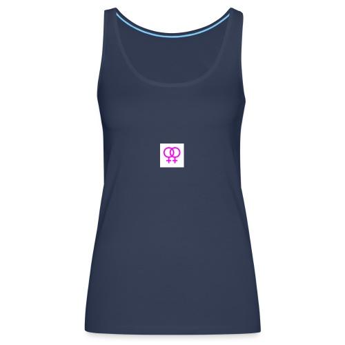 lesbian logo - Débardeur Premium Femme