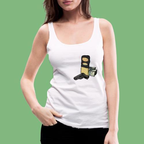 Tablon - Camiseta de tirantes premium mujer