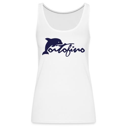 portofino 2019 NAVY - Women's Premium Tank Top