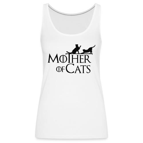 1 texto gatos eng png - Camiseta de tirantes premium mujer
