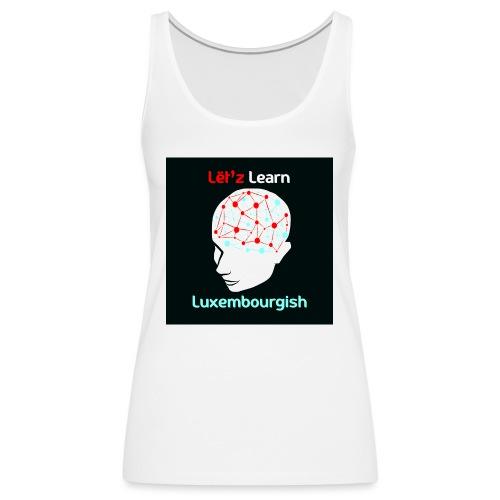letzlearnlux(print) - Frauen Premium Tank Top