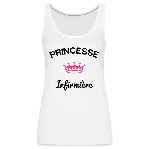 princesse team nurse - Débardeur Premium Femme