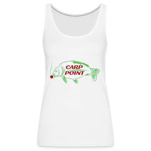 Carp Point new1 mid - Frauen Premium Tank Top