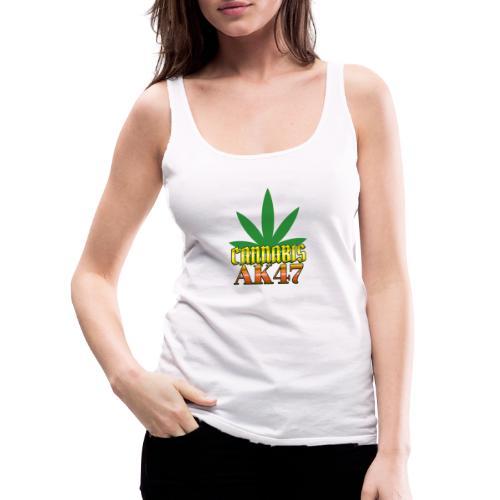 Cannabis AK 47 - Débardeur Premium Femme