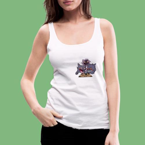 Gastly Haunter y Gengar4 - Camiseta de tirantes premium mujer