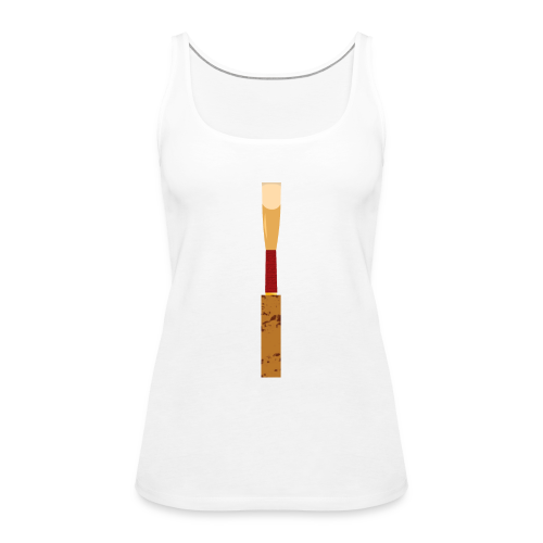 oboe reed - Frauen Premium Tank Top