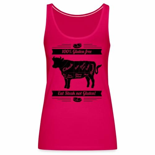 Humorvolles Design für Fleischliebhaber - Frauen Premium Tank Top