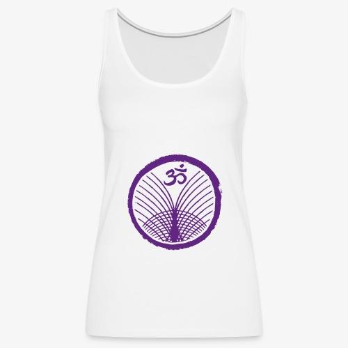 Logo Integrales Faszien Yoga single - Frauen Premium Tank Top