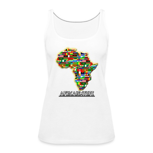 Africaismylife Logo - Women's Premium Tank Top