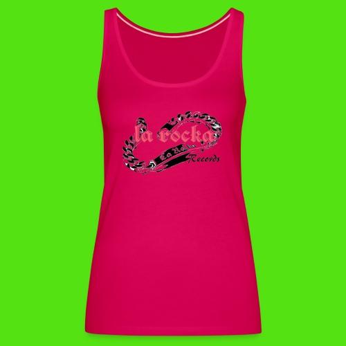 La Rocka - white'n'pink2 - Women's Premium Tank Top