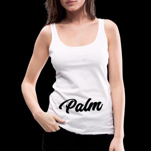 Palm Exclusive black - Dame Premium tanktop