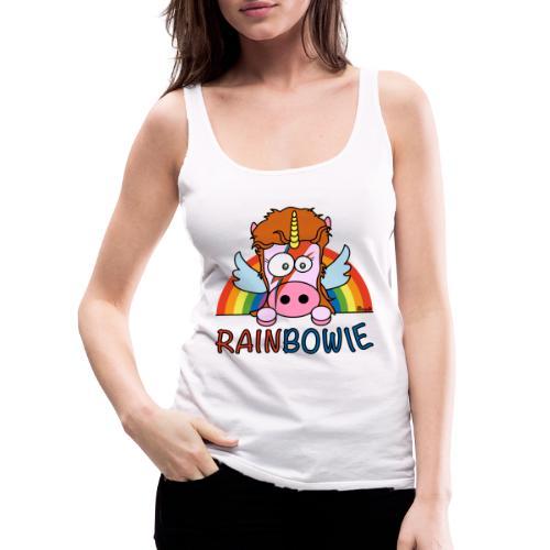 Licorne RainBow Bowie - Débardeur Premium Femme