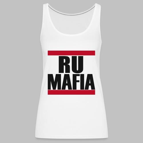RU MAFIA Weiß png - Frauen Premium Tank Top