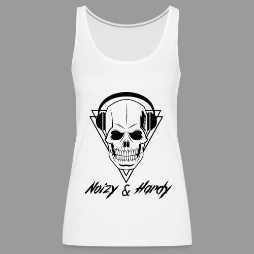Noizy & Hardy schwarzes Logo - Frauen Premium Tank Top