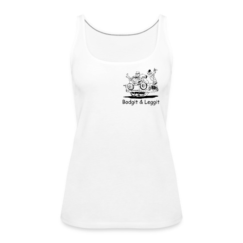 BGLOGOTEST gif - Women's Premium Tank Top