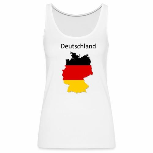 Deutschland Karte - Frauen Premium Tank Top