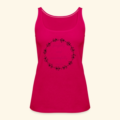 fearfully made large - Women's Premium Tank Top