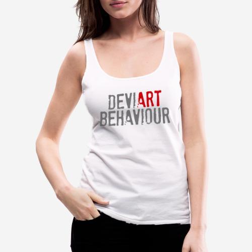 Verhalten von Kunstkünstlern - Frauen Premium Tank Top