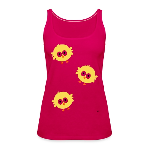 Easter Chicks - Dame Premium tanktop