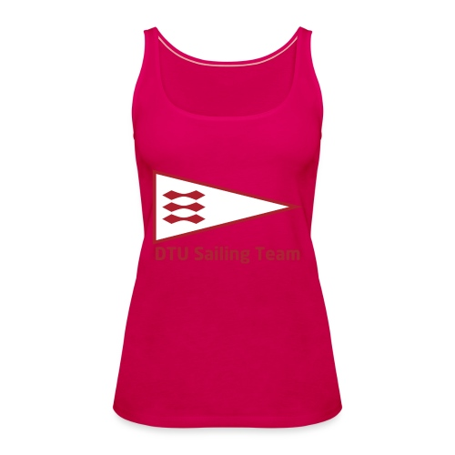DTU Sailing Team Official Workout Weare - Women's Premium Tank Top