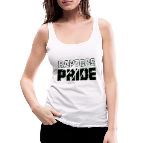 Raptors Pride - weiß/schwarz - Frauen Premium Tank Top