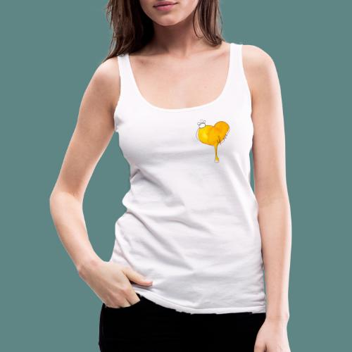 Heart Bee LOVE - Débardeur Premium Femme