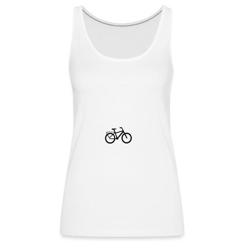 BCL Shirt Back White - Women's Premium Tank Top
