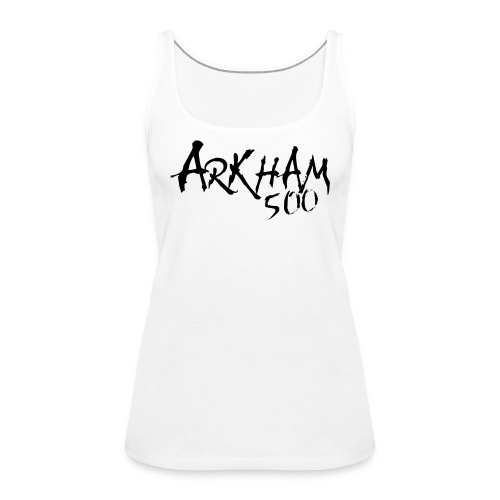 arkham sort spreadshirt png - Premium singlet for kvinner