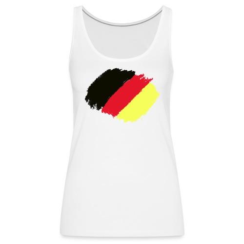 Schwarz rot gold - Frauen Premium Tank Top