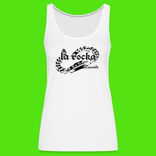 La Rocka - white'n'black2 - Women's Premium Tank Top